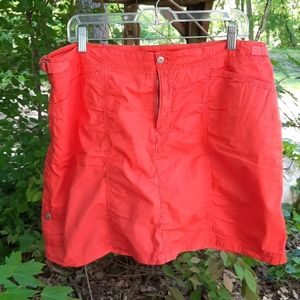 Fresh Produce orange Skort